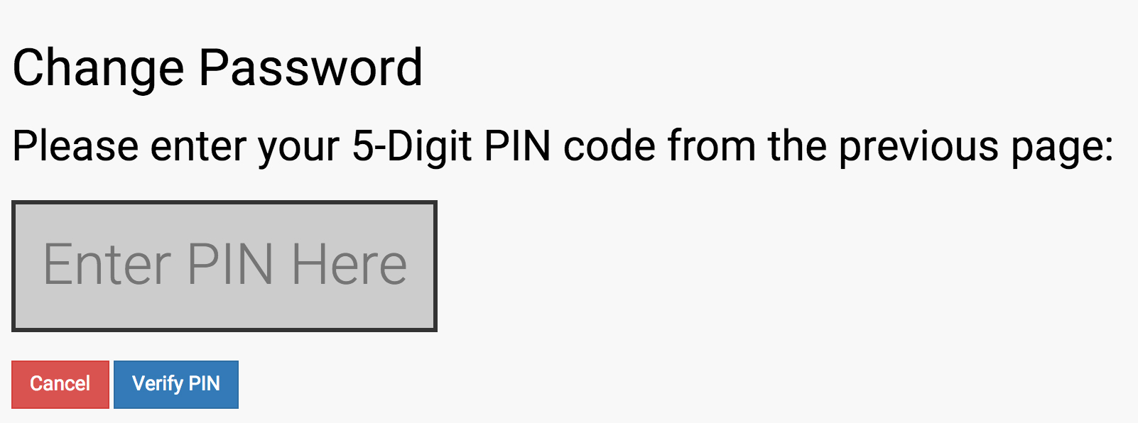 Forgot Password Step 6