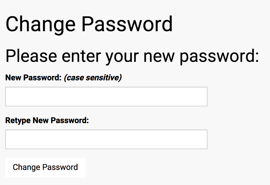 Forgot Password Step 7