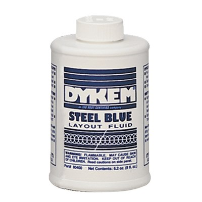 8OZ. BLUE DYKEM LAYOUT FLUID