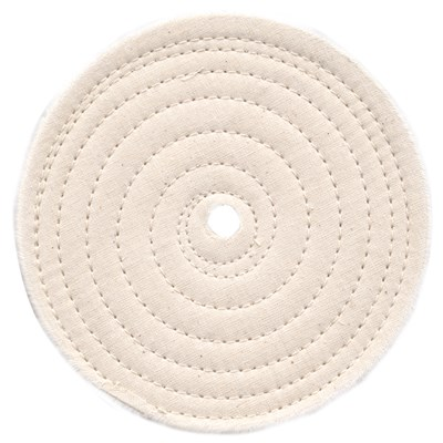 6IN.USA SPIRAL FULL DISC BUFFING WHEEL