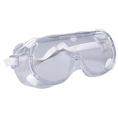 ERB SPLASHGRD GOGGLE INDIRECT VENT.CLEAR