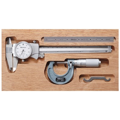 MTI DIAL CALIPER AND MICROMETER TOOL KIT