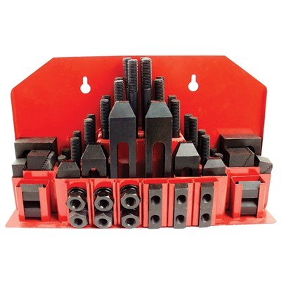 MACH. CLAMPING SET 5/8T-SLOT 1/2-13 STUD