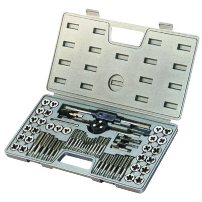 KBC 60PC METRIC,INCH TAP & DIE SET HS