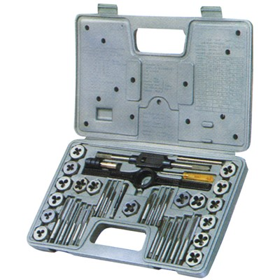 39PC METRIC TAP&DIE SET HIGH SPEED STEEL