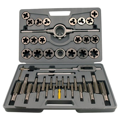 KBC 45PC TAP & DIE SET CARBON STEEL