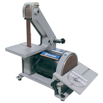 KING 5IN. DISC &1X30IN.BELT SANDER 1/5HP