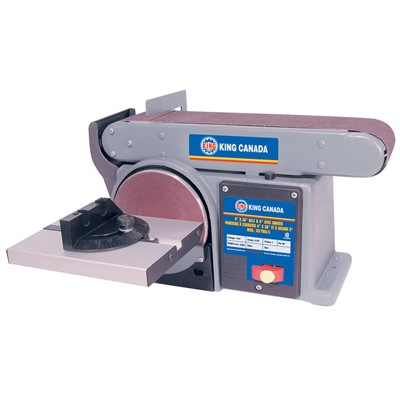 KING 6IN. DISC &4X36IN.BELT SANDER 1/3HP