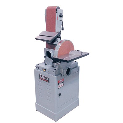 KING 12IN. DISC&6X48IN.BELT SANDER 1.5HP