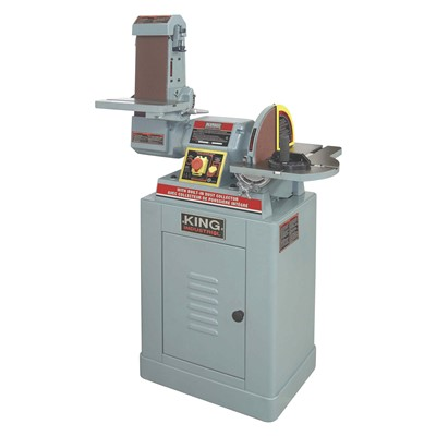 DISC/BELT SANDER W/DUST COLLECTOR