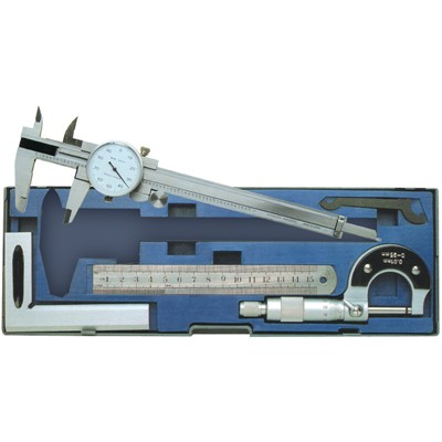 KBC 4PC METRIC MEASURING TOOL SET