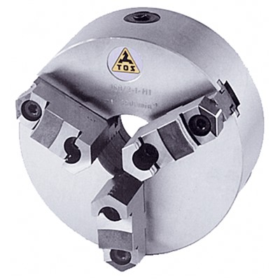 TOS 10IN. D1-5 3JAW LATHE CHUCK REV JAWS